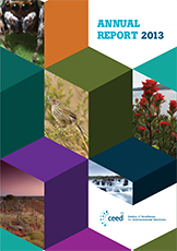 UQ Ceed AnnualReport 2013 FINAL web COVER